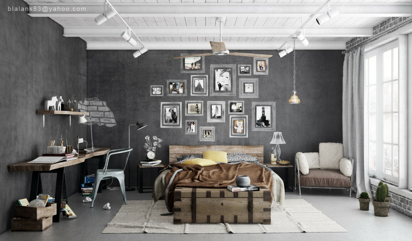 Best Industrial Bedrooms Interior Design Home Design This Month