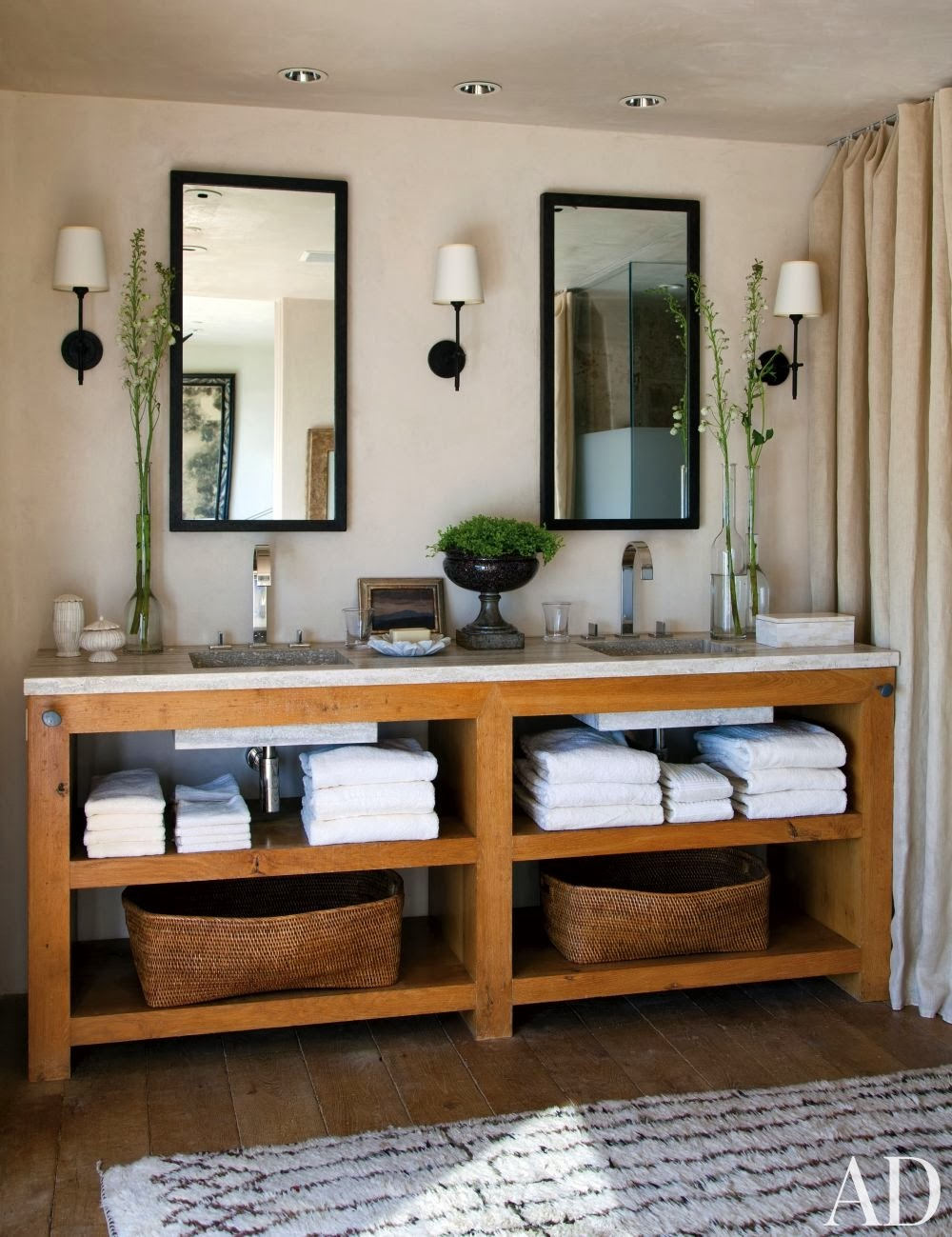 Best Refresheddesigns Seven Stunning Modern Rustic Bathrooms This Month