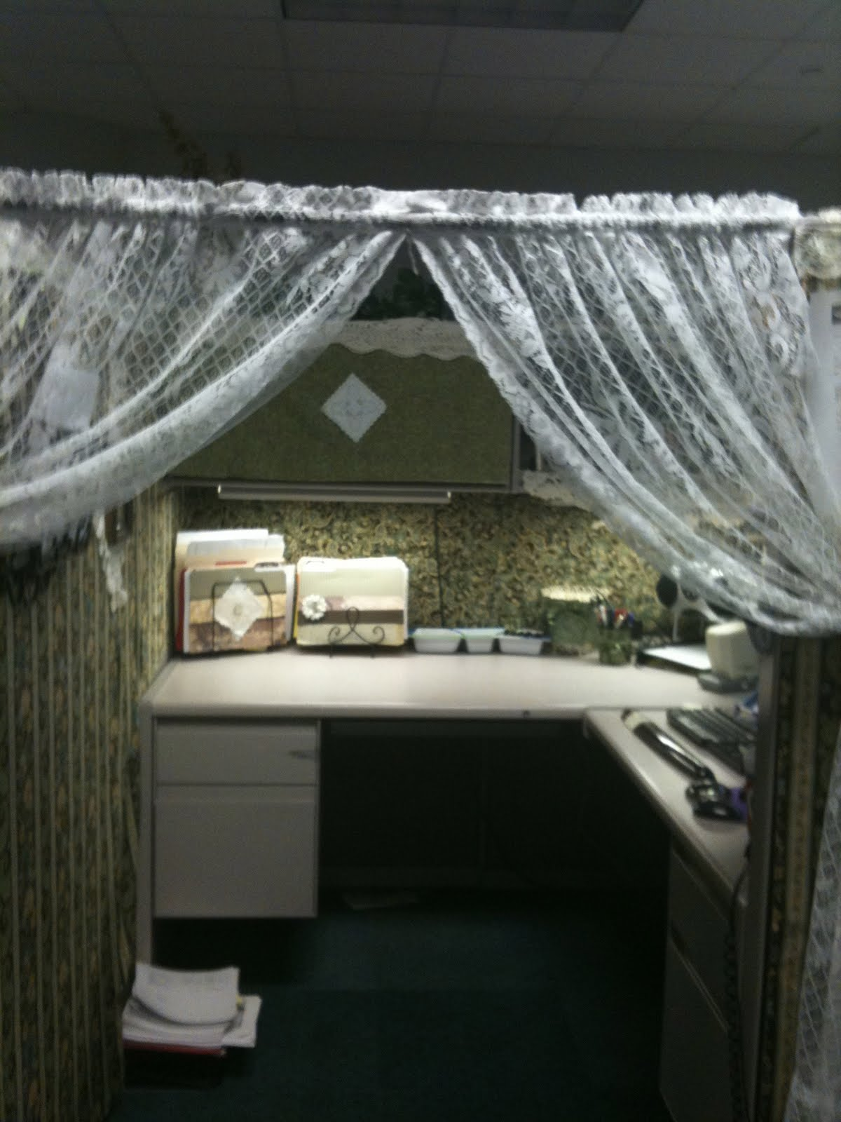 Best My Cowboy S Wife Extreme Work Cubicle Makeover This Month