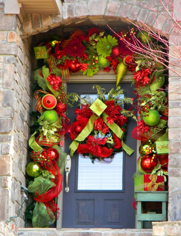 Best Life And Love Front Door Holiday Decor This Month