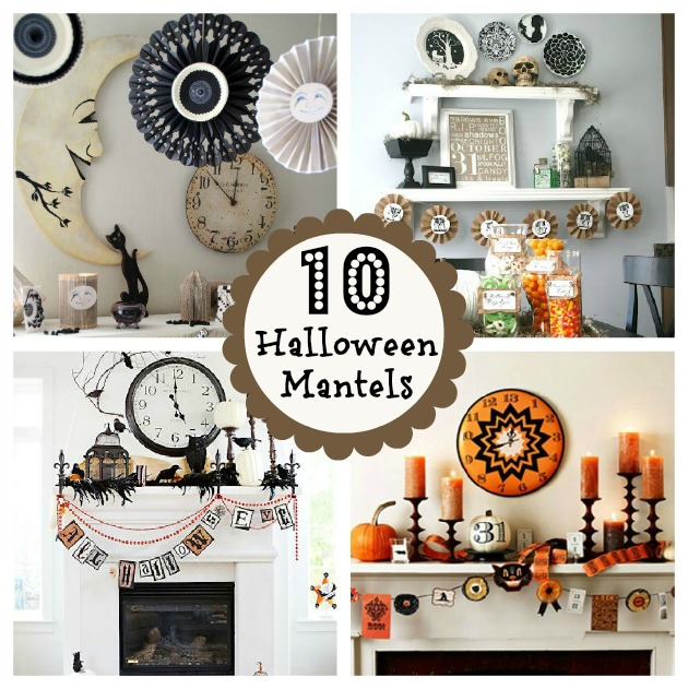 Best 10 Halloween Mantels Do It Yourself Decorating This Month