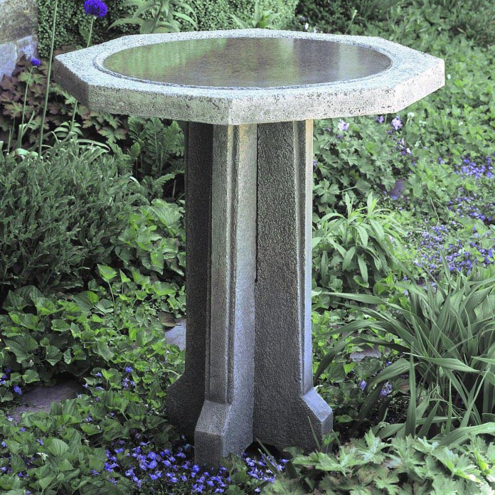Best Make A Concrete Bird Bath With Your Own Hands Birdcage This Month