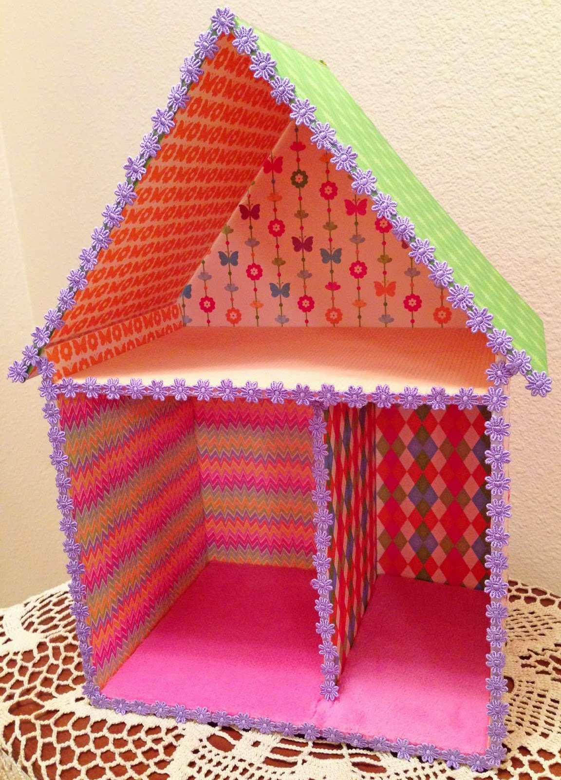 Best Dollhouse Decorating A Quick Easy Fun Cheap Foam This Month