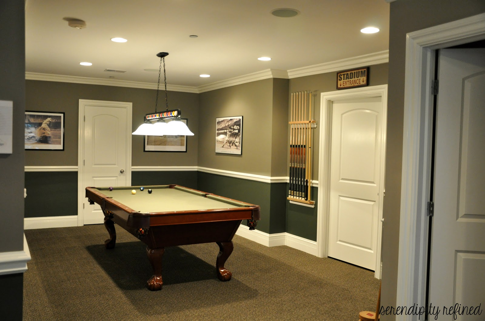 Best Serendipity Refined Blog Basement Make Over Reveal And My This Month