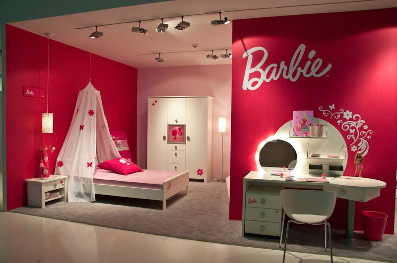 Best Girls Barbie Bedrooms Pink Colored Interior Design This Month