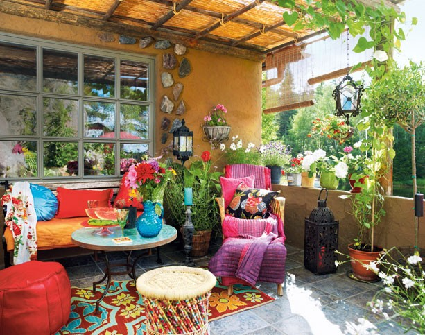 Best Gypsy Yaya The Great Outdoors Bohemian Decor Al Fresco This Month