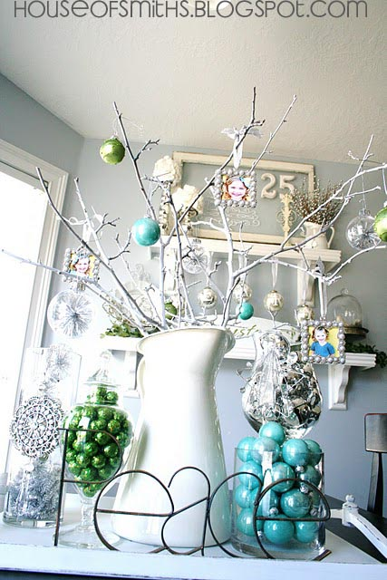 Best Blue Green White And Silver Christmas Decorating Ideas This Month