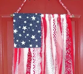 Best Shabby Chic American Flag Hometalk This Month