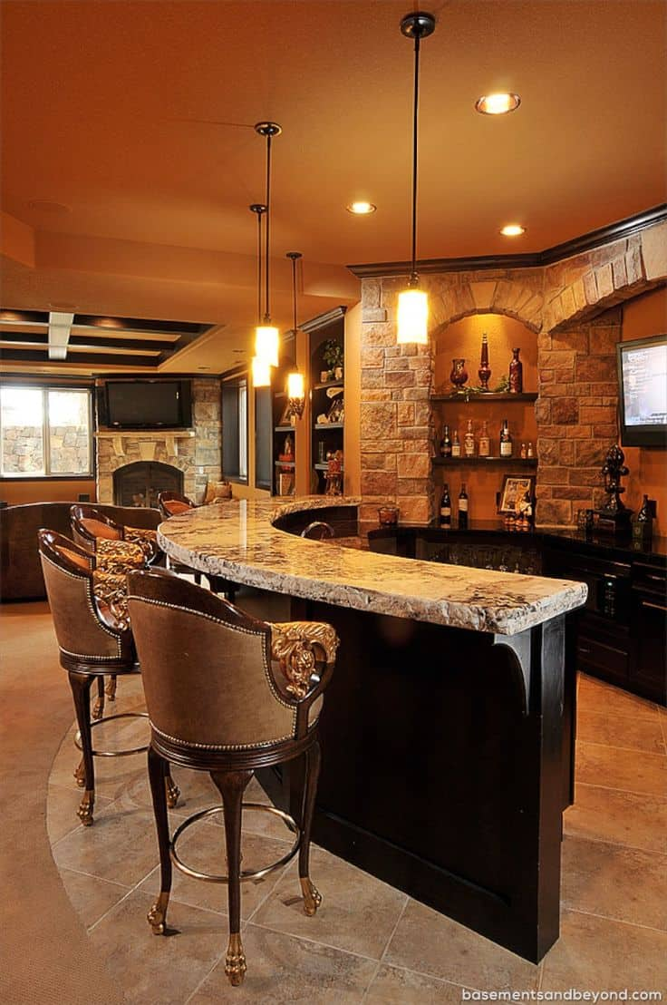 Best 52 Splendid Home Bar Ideas To Match Your Entertaining This Month