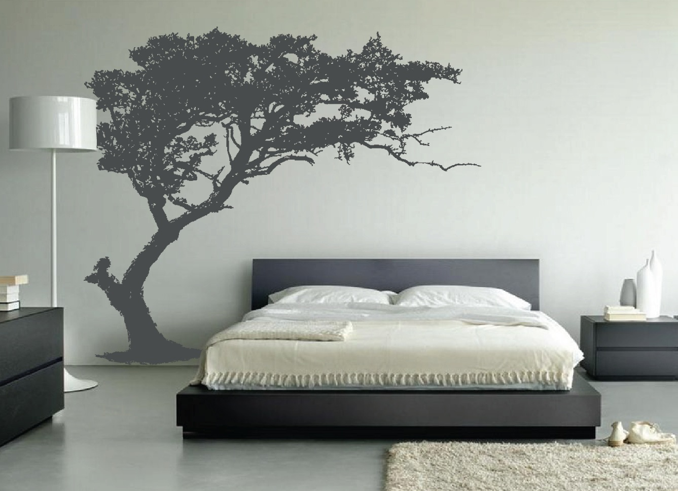 Best Large Wall Tree Decal Forest Decor Vinyl Sticker Highly This Month