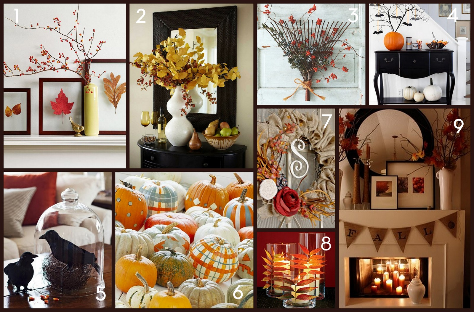 Best Home Made Modern Pinterest Easy Fall Decorating Ideas This Month