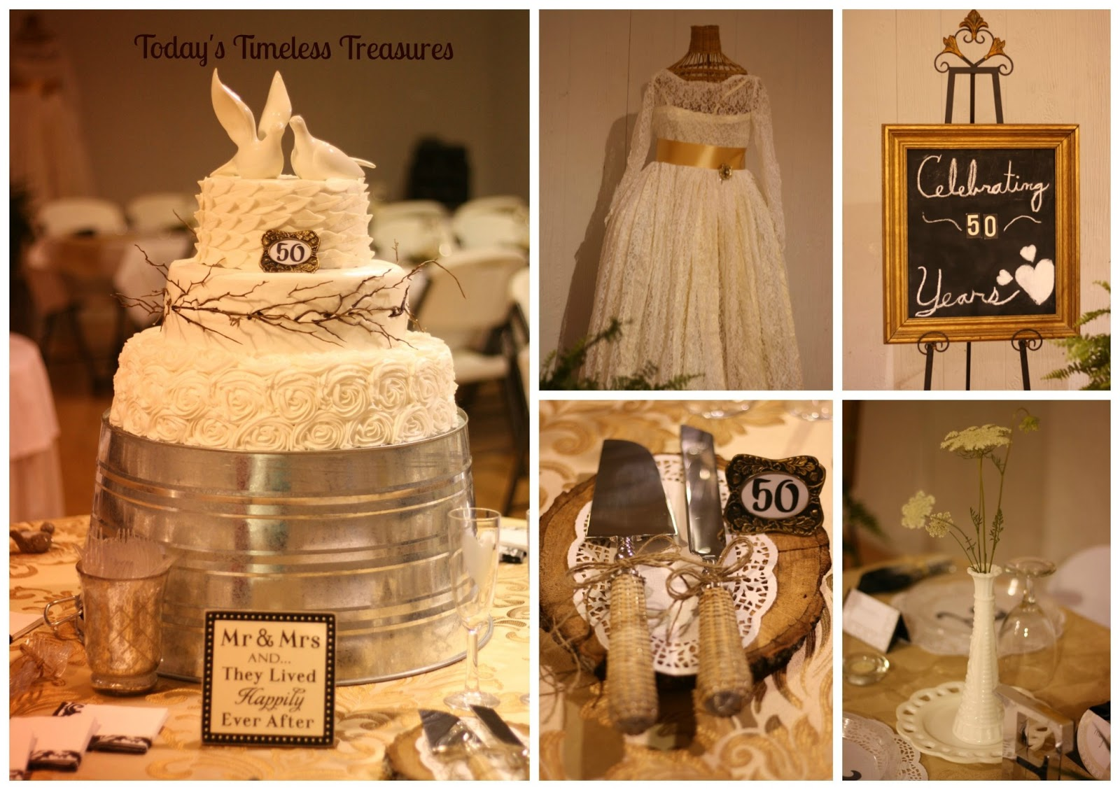 Best Today S Timeless Treasures 50Th Wedding Anniversary Party This Month