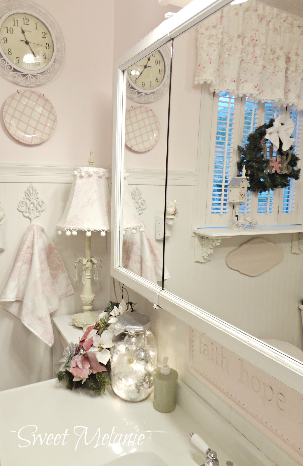 Best Shabby Chic Christmas Home Tour Debbiedoo S This Month