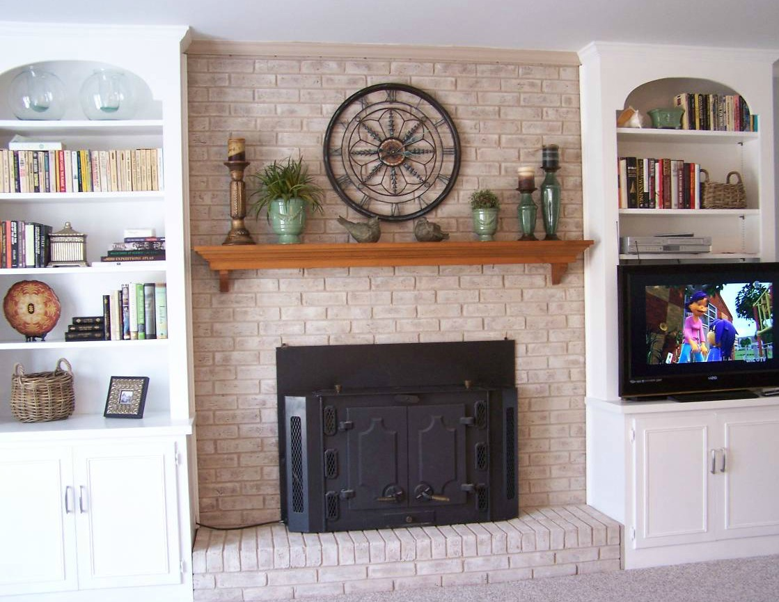 Best Fireplace Decorating April 2012 This Month