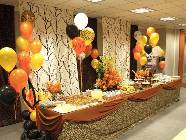 Best Pretty Parties African Safari Party This Month