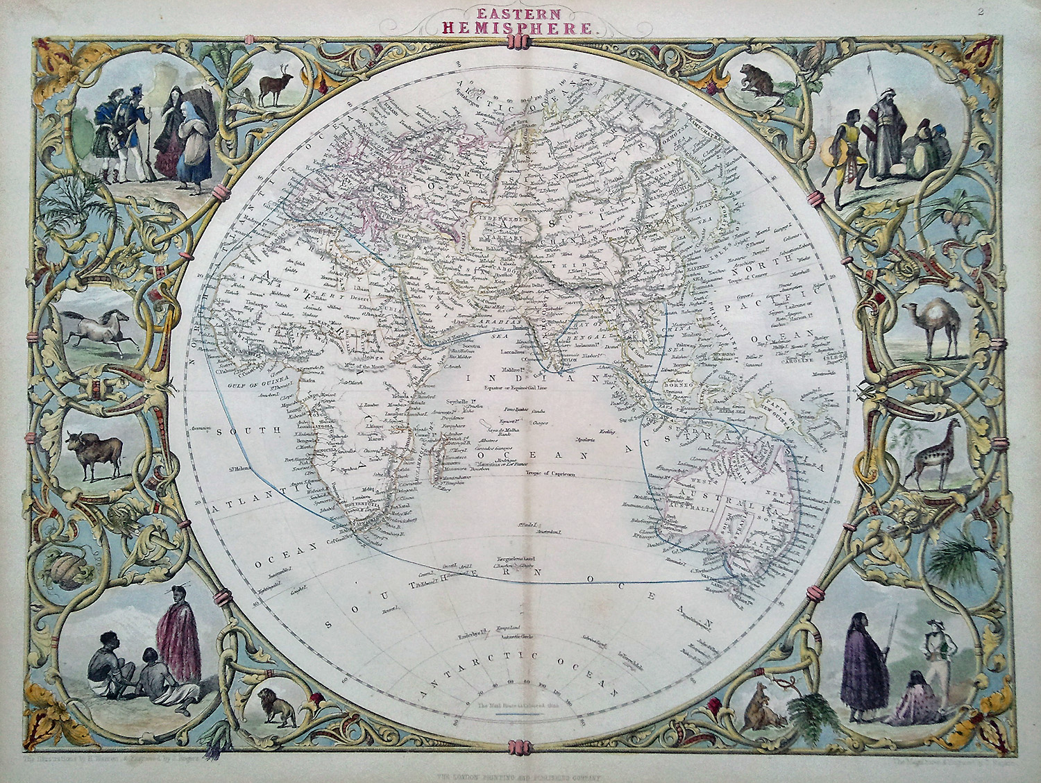 Best Antique Maps Decorative Antique Victorian Map Of The World This Month
