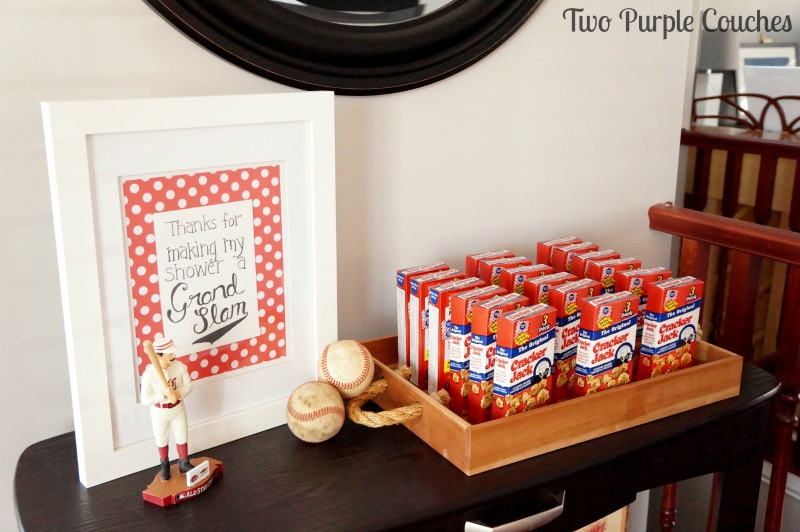 Best Baseball Themed Baby Shower Two Purple Couches This Month