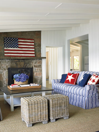 Best Red White And Blue Decor Archives The Honeycomb Home This Month