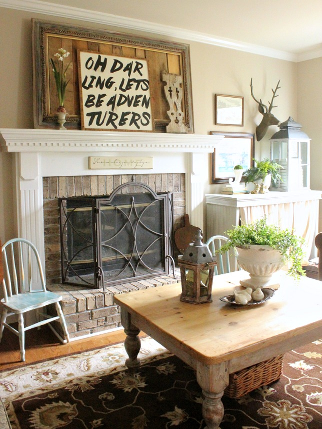 Best How To Decorate A Spring Mantel Daisymaebelle This Month