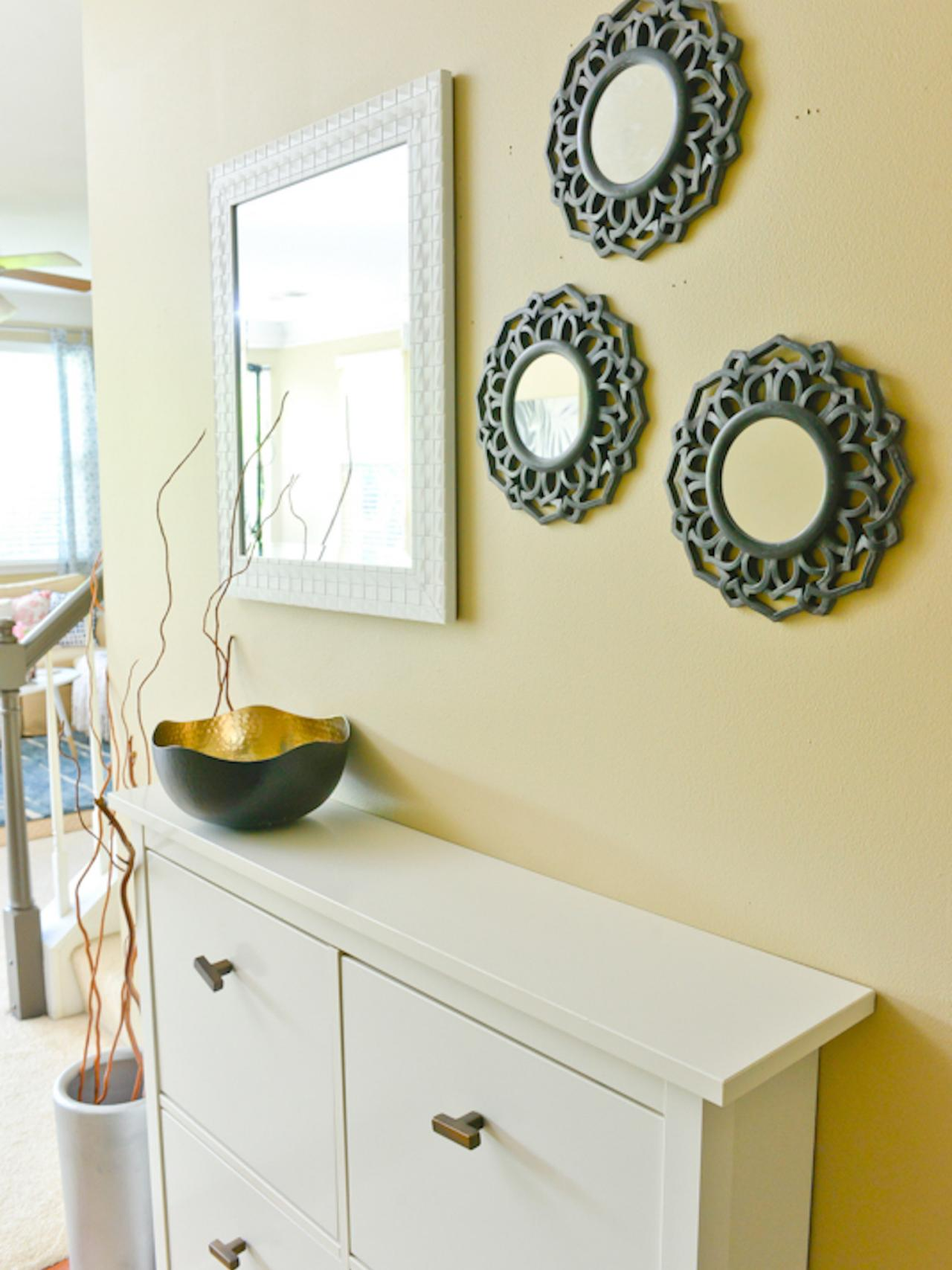 Best Wall Decor Tricks Try Decorating In Threes Diy Network This Month