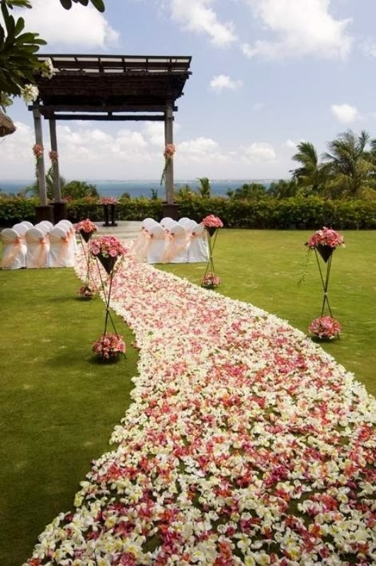 Best Memorable Wedding Wedding Ceremony Aisle Decorations This Month