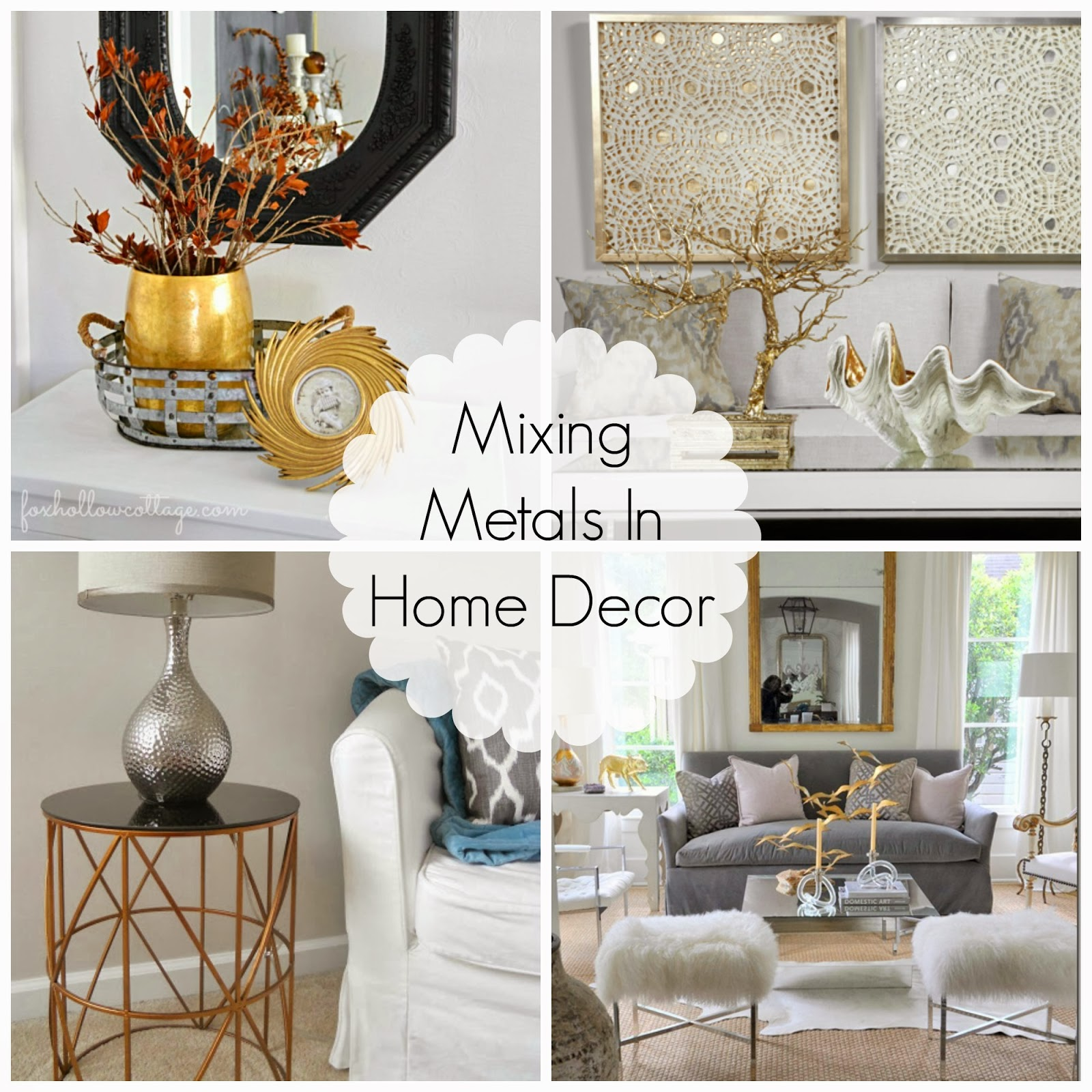 Best Mixing Metals In Home Decor This Month
