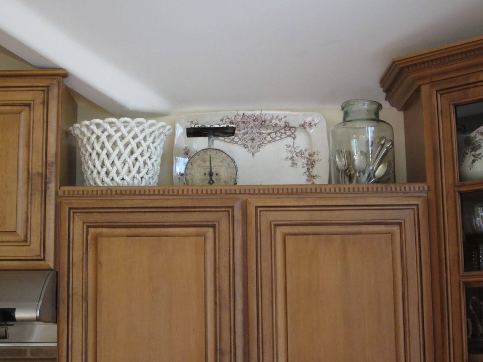 Best Antiquechase Decorating Above Kitchen Cabinets Why Is This Month Original 1024 x 768
