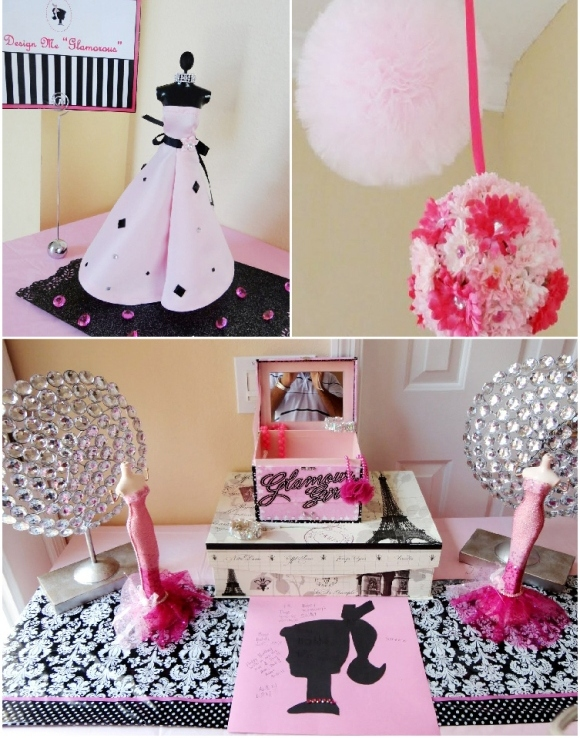 Best A Pink Glam Barbie Birthday Party Party Ideas Party This Month