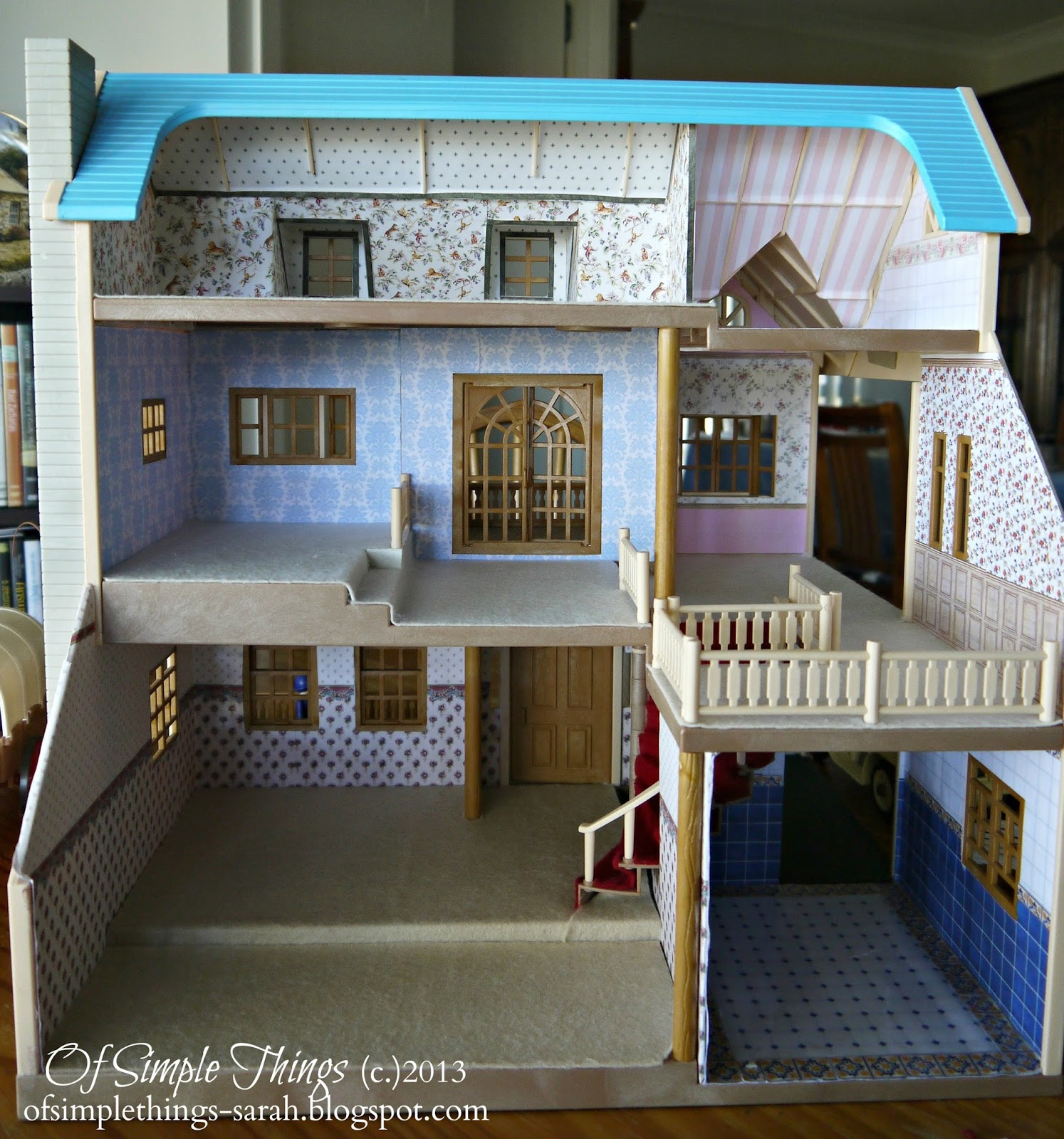 Best Of Simple Things Dollhouse Decorating Part 1 This Month