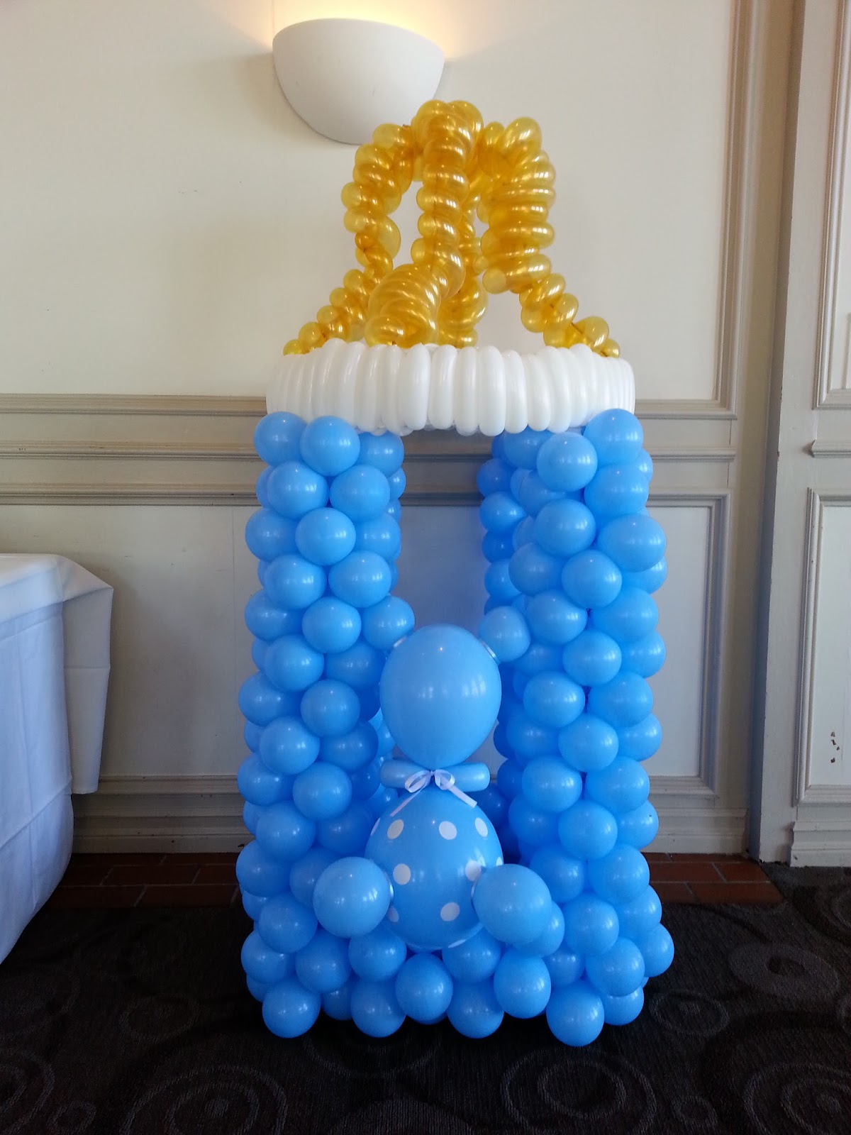 Best Pop Balloons A Baby Shower For A Boy This Month