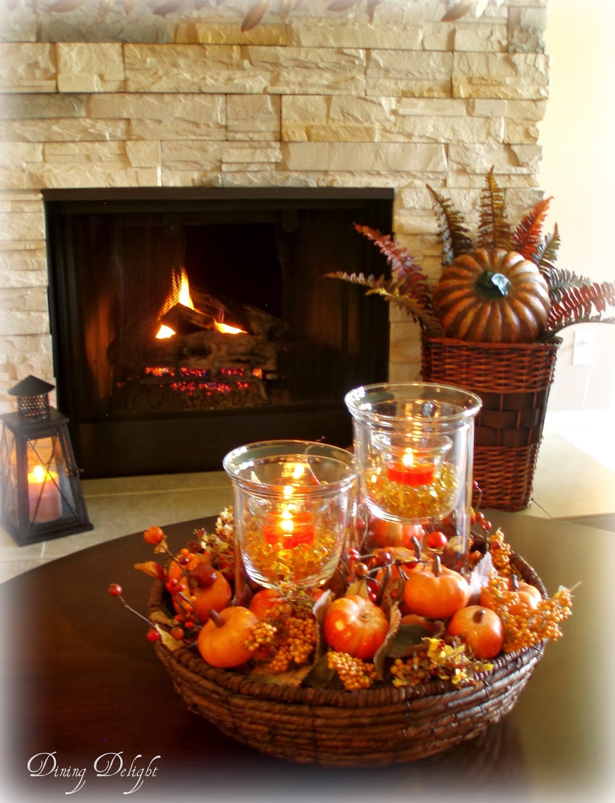 Best Dining Delight Fall Coffee Table Centerpiece This Month