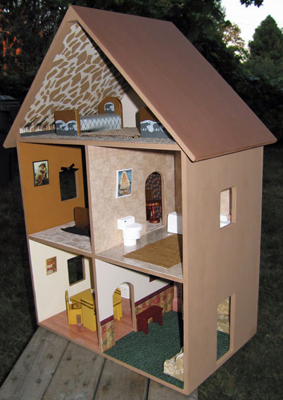 Best Dollhouse Decorating A Completed Playable Lighted Wooden This Month