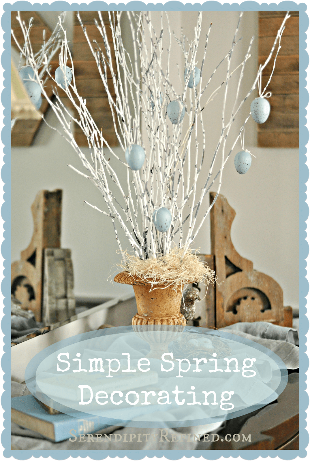 Best Serendipity Refined Blog Super Simple Spring Decor Diy This Month