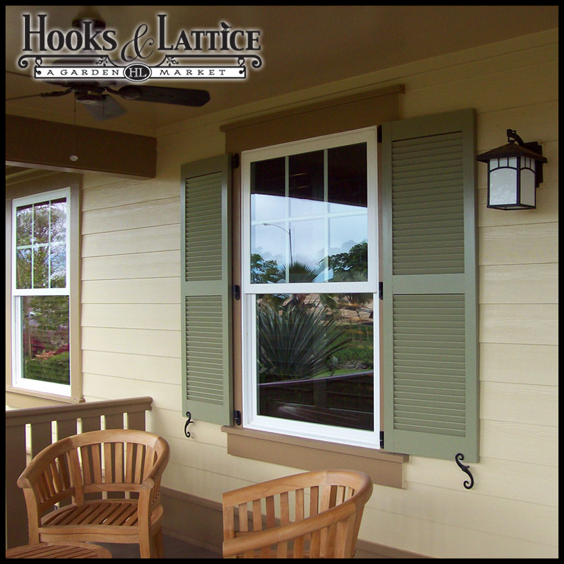 Best Custom Exterior Shutters Standard Window Shutters Hooks This Month