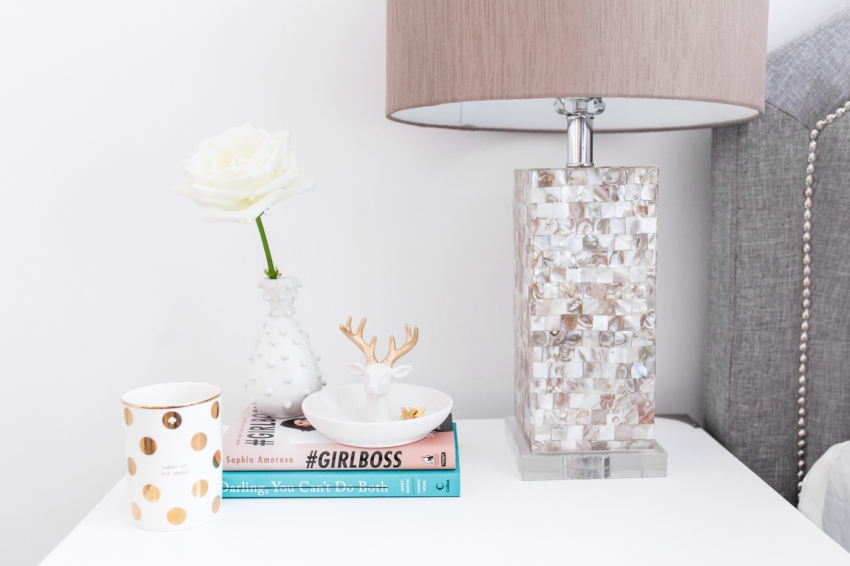 Best Bedside Table Decor Fashionable Hostess This Month