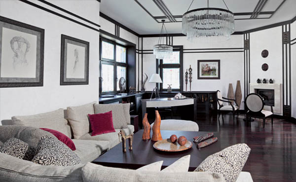 Best 20 Bold Art Deco Inspired Living Room Designs Rilane This Month