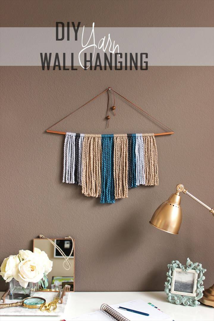 Best 54 Ideas About Diy Yarn Wall Art Diy To Make This Month
