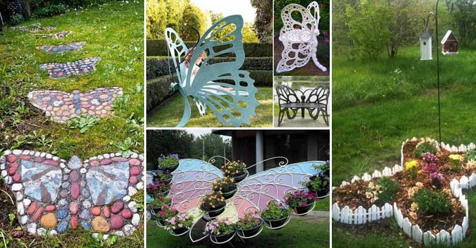 Best Truly Cool And Low Budget Garden Decorations Inspired By This Month