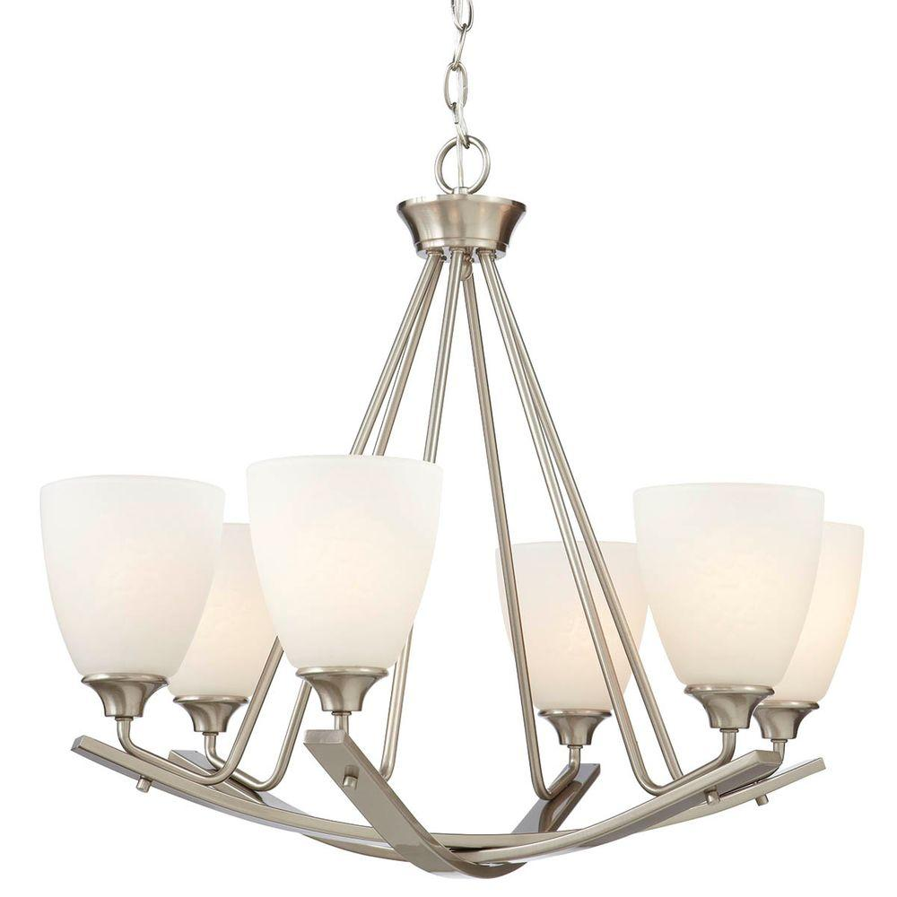 Best Home Decorators Collection 6 Light Brushed Nickel This Month