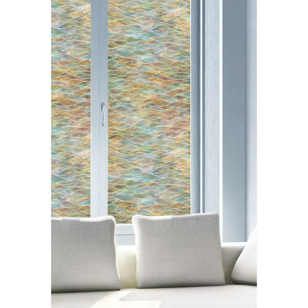 Best Artscape 24 In X 36 In Water Colors Decorative Window This Month
