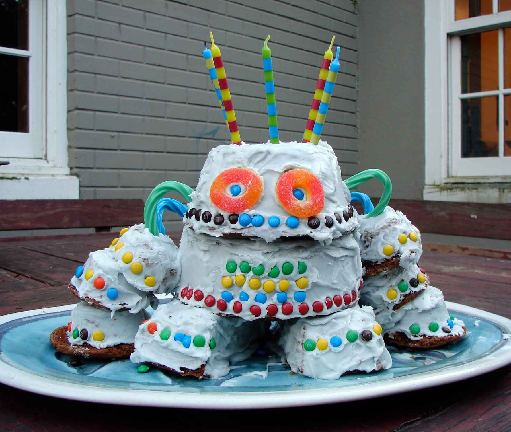 Best Robot Cake – Decoration Ideas Little Birthday Cakes This Month