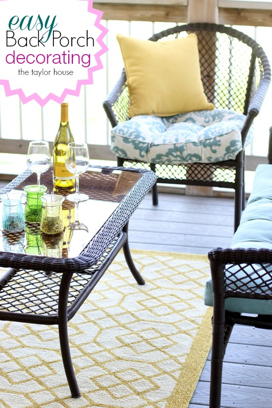 Best Back Porch Decorating Ideas The Taylor House This Month