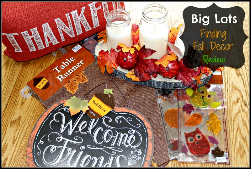 Best Big Lots Finding Fall Decor For My Home Review Emily This Month