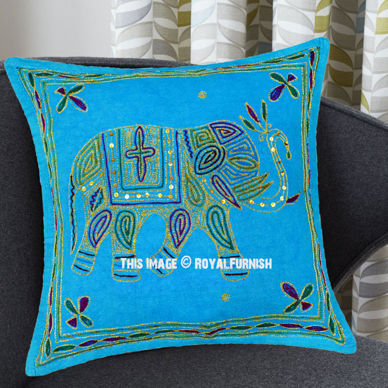 Best Turquoise Needlepoint 16X16 Decorative Embroidered This Month