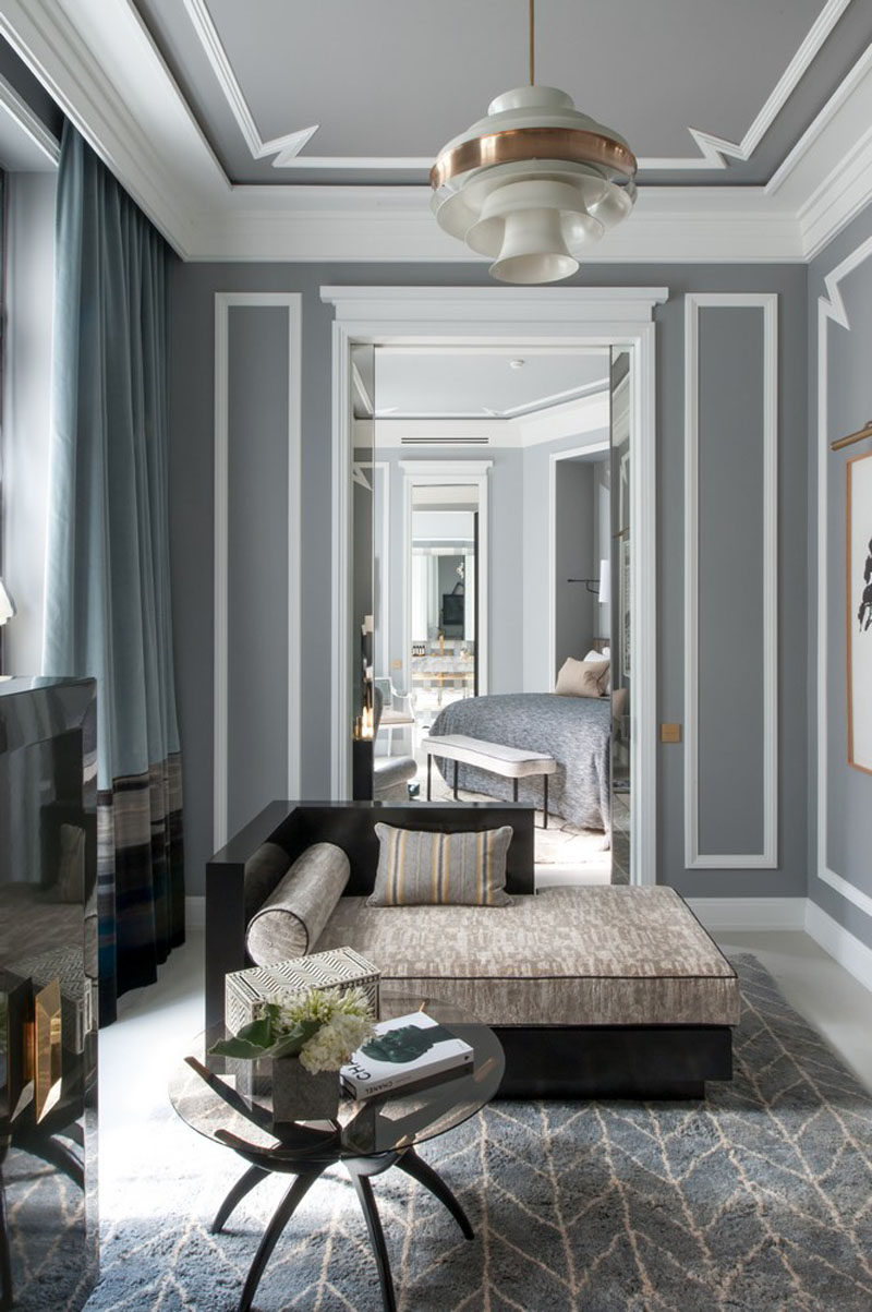 Best Wall Decor Idea This Creative Use Of Wall Molding Gives This Month