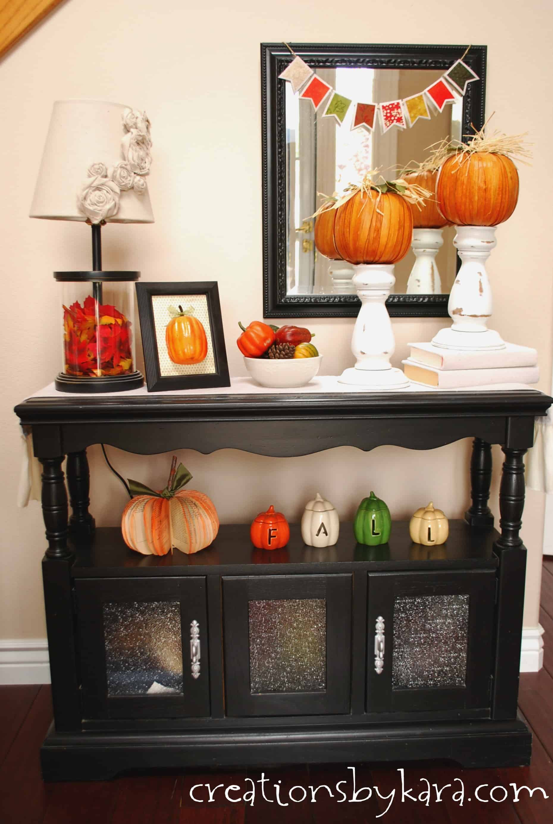 Best Fall Decorating Ideas Entryway Table Decor This Month