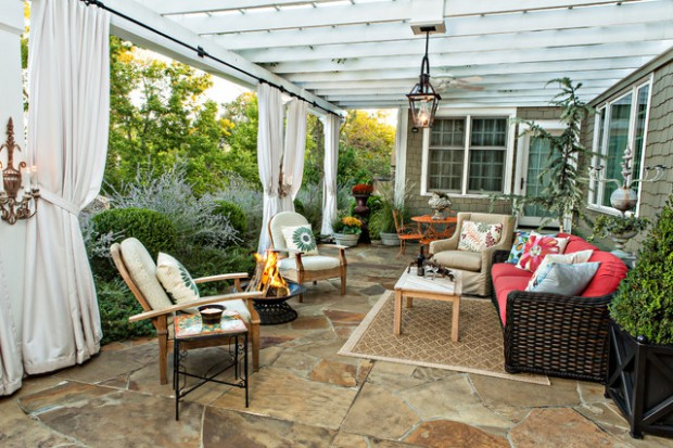 Best A Piece Of Heaven In Your Backyard 17 Pergola Curtain This Month