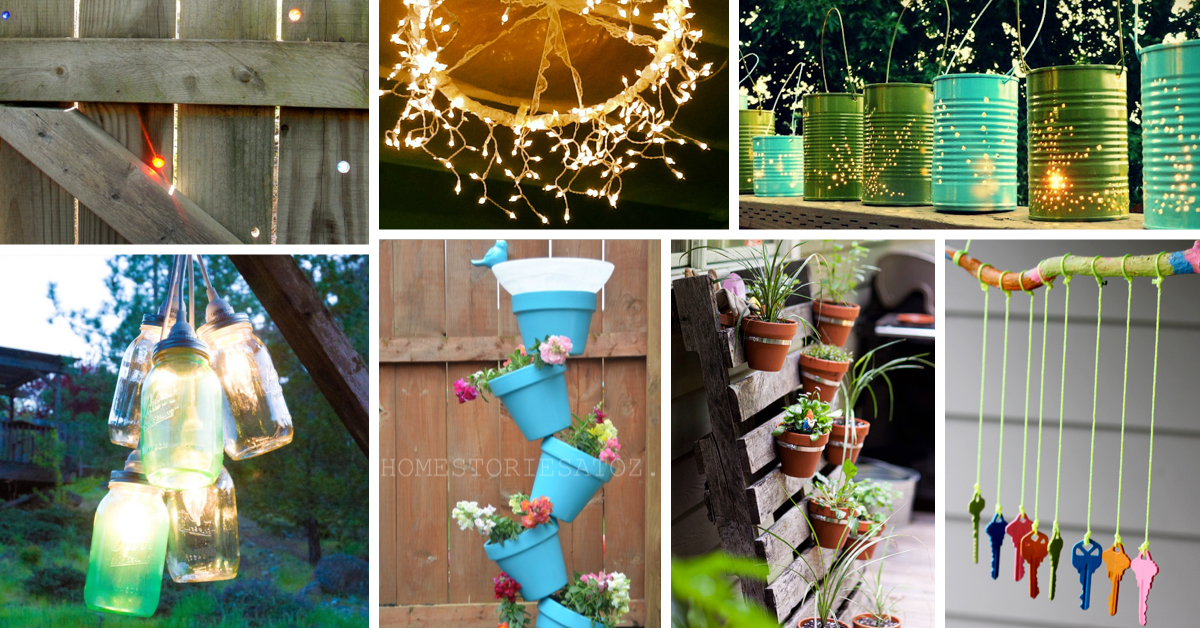 Best 13 Diy Outdoor Garden Ideas For Spring Style Motivation This Month