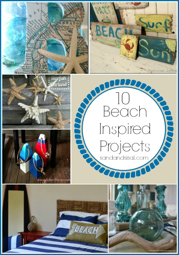 Best 10 Beach Inspired Projects Sand And Sisal This Month