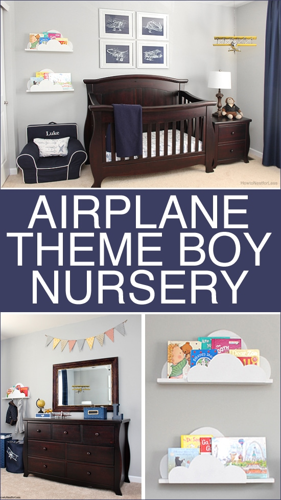 Best Airplane Themed Boy Bedroom How To Nest For Less™ This Month